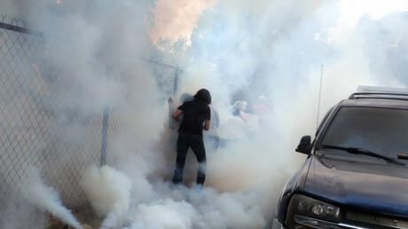Βενεζουέλα: Με δακρυγόνα διέλυσαν διαδήλωση της αντιπολίτευσης – Στο σκοτάδι πολλές περιοχές