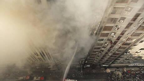 Μπαγκλαντές: Πυρκαγιά σε κτήριο 19 ορόφων – Πολλοί εγκλωβισμένοι (pics&vids)
