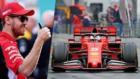 O Φέτελ βάφτισε τη νέα Ferrari του Λίνα