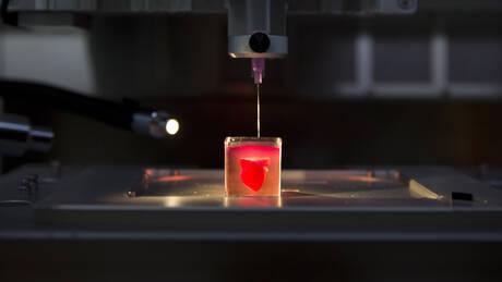Επιστήμονες «τύπωσαν» την πρώτη 3D καρδιά από ανθρώπινο ιστό (pics&vid)