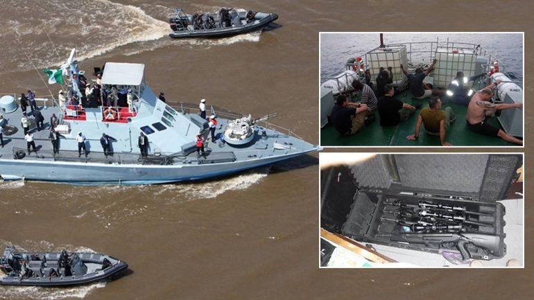 Έλληνες πειρατές συνελήφθησαν στη Νιγηρία