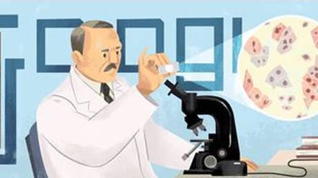 Γεώργιος Παπανικολάου: Τον «πατέρα» του τεστ Παπ τιμά η Google με το Doodle της