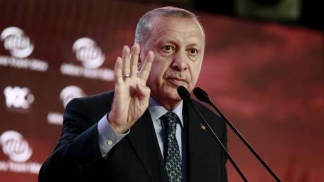 Ερντογάν: Σταθερότητα σε Κύπρο και Aνατολική Μεσόγειο μόνο αν προστατευτούν τα συμφέροντά μας