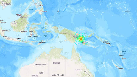 Μεγάλη σεισμική δόνηση 7,2 Ρίχτερ στην Παπούα – Νέα Γουινέα