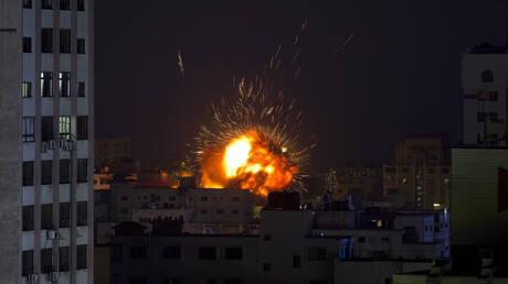 Ρουκέτες του Ισραήλ χτύπησαν τα γραφεία του πρακτορείου Anadolu στη Γάζα (vid)