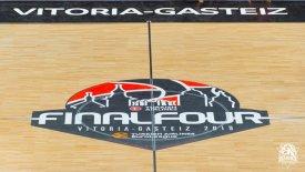 Στα… χρώματα του Final 4 η Fernando Buesa Arena! (pic)