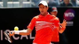 """Italian Open: Με επική ανατροπή κόντρα στον Ντελ Πότρο στους """"4"""" ο Τζόκοβιτς"""