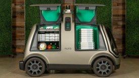 Ένα αυτοκίνητο χωρίς οδηγό για τις πίτσες της Domino's στο Χιούστον!