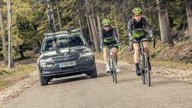 Ένα Skoda «κομμένο και ραμμένο» για τους ποδηλάτες! (pics & vid)