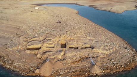Η ξηρασία στο Ιράκ αποκάλυψε παλάτι 3.400 ετών μυστηριώδους αυτοκρατορίας (pics&vid)