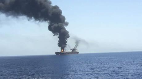 Κόλπος του Ομάν: Οι πρώτες εικόνες από την επίθεση σε δεξαμενόπλοια