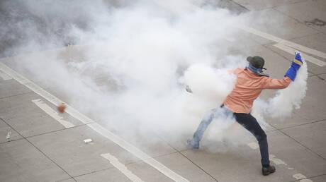 Ονδούρα: Πυρπολήθηκαν δεκάδες φορτηγά της Dole σε διαδηλώσεις κατά των ΗΠΑ (pics&vids)
