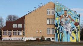 Ο Γιόκιτς έγινε graffiti στη γενέτειρα του!