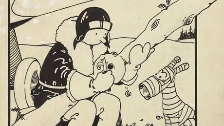 Το πρώτο εξώφυλλο του Τεν Τεν πουλήθηκε για 1,125 εκατομμύρια δολάρια