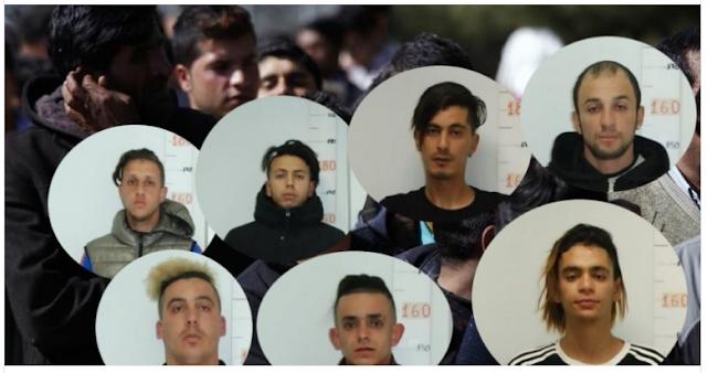 Θεσσαλονίκη: Αυτά είναι τα 22 μέλη της αλλοδαπής συμμορίας που λήστευε πεζούς στο κέντρο