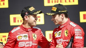 H Ferrari… ξέχασε να ενημερώσει τον Λεκλέρ για την ποινή του Φέτελ!