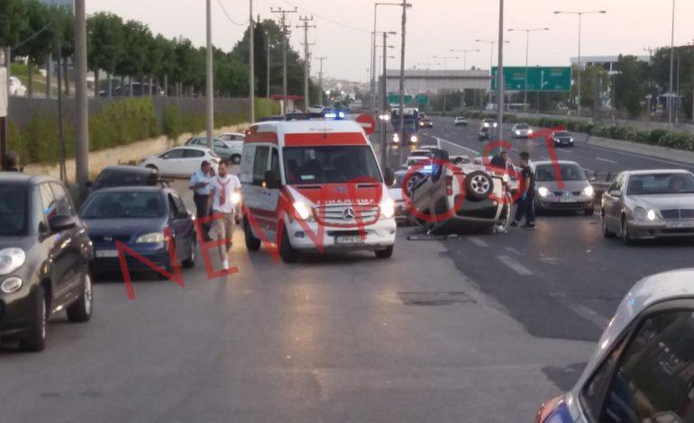 Υπέκυψε μέσα στο ασθενοφόρο η οδηγός του δυστυχήματος στον κόμβο Καλυφτάκη