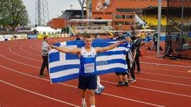 Ασημένιο μετάλλιο με ρεκόρ για τον Φρεντζεσκάκη στο Ευρωπαϊκό Κ-20 (vid)
