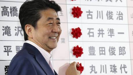 Εκλογές Ιαπωνία: Νίκη Άμπε με σταθερή πλειοψηφία για αναθεώρηση Συντάγματος (pics)