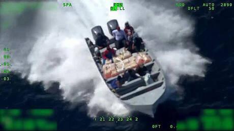 ΗΠΑ: 13 τόνοι κοκαΐνης κατασχέθηκαν σε επιχειρήσεις της αμερικανικής ακτοφυλακής (vids)