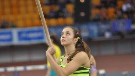 Η Αδαμοπούλου προκρίθηκε στον τελικό του επί κοντώ