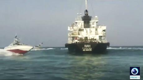 Λονδίνο: Το τάνκερ που κατέσχεσαν οι Φρουροί της Επανάστασης του Ιράν δεν είναι βρετανικό (vid)
