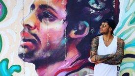 Πρίντεζης: Στη Σύρο, έφτιαξαν ένα σούπερ graffiti που τον απεικονίζει! (pic)