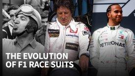 Πώς άλλαξαν οι φόρμες  των οδηγών της F1 σε 70 χρόνια (vid)