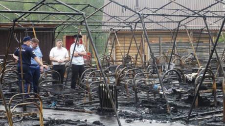 Τραγωδία στη Ρωσία: Κάηκαν τέσσερα παιδιά σε κατασκήνωση (pics)