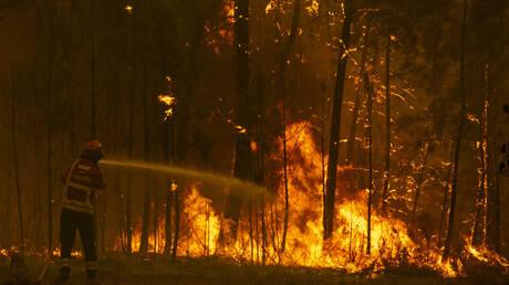 Υπό έλεγχο τέθηκε η μεγάλη πυρκαγιά στην Πορτογαλία (pics&vid)
