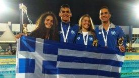 Χάλκινο μετάλλιο για την Ελλάδα στο Παγκόσμιο τεχνικής κολύμβησης