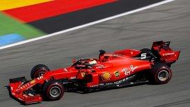 1-2 η Ferrari στη Γερμανία με «μπροστάρη» τον Φέτελ