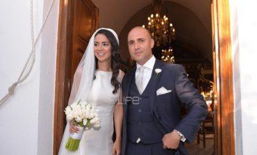 Νάξος: Φωτογραφίες από τον γάμο του Κωνσταντίνου Μπογδάνου και της Ελένης Καρβέλα