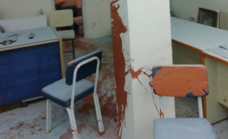 Επίθεση στα γραφεία της Νέας Δημοκρατίας στα Πετράλωνα