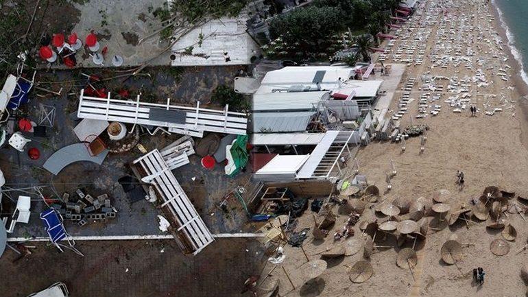Η καταστροφή στη Χαλκιδική από drone