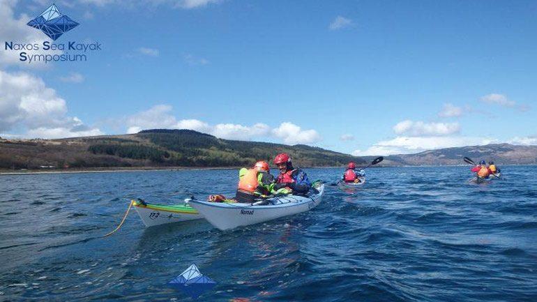Διεθνές συμπόσιο θαλάσσιου καγιάκ στη Νάξο, για πρώτη φορά στην Ελλάδα