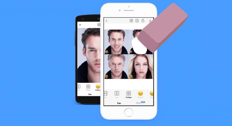 FaceApp: Τα 3 βήματα για να σβήσετε τις φωτογραφίες από την εφαρμογή