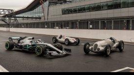 Mε επετειακή εμφάνιση η Mercedes στο Χόκενχαϊμ της Γερμανίας