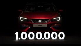 To SEAT Leon μπήκε στο κλαμπ του ενός εκατομμυρίου! (vid)