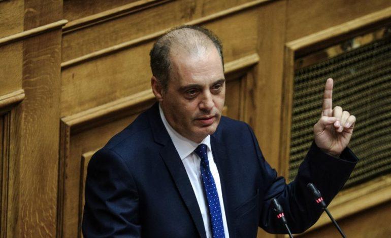 Ο Βελόπουλος στη Βουλή 20/07/2019