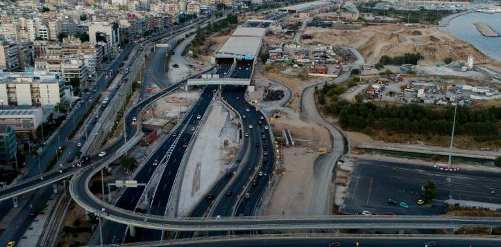 Ποιοι δρόμοι θα κλείσουν και πότε λόγω έργων στην Παραλιακή
