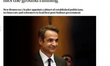 Guardian: Δυνατό ξεκίνημα ως πρωθυπουργός έκανε ο Κυριάκος Μητσοτάκης