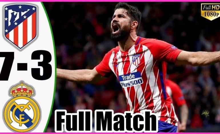 Η Ατλέτικο Μαδρίτης «διέλυσε» τη Ρεάλ με 7-3. Δείτε όλα τα γκόλ.