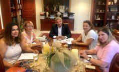 Δελτίο τύπου. Συνάντηση Πατούλη με τις εκπροσώπους της Π. Φ. Π. Ο.