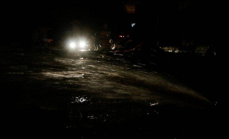 Μεγάλα προβλήματα σε Αχαΐα και Αιτωλοακαρνανία από τη σφοδρή βροχή