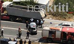 Στο νοσοκομείο οι γονείς με τα παιδιά τους μετά το τροχαίο στο Ηράκλειο