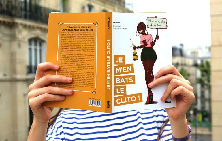 Tο βιβλίο «Je m' en bats le clito!»