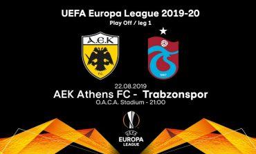 ΑΕΚ -Τραμπζοσπόρ (21:00) ...για ομίλους και ρεκόρ