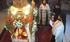 Μεθεόρτιος Εσπερινός στον Ι.Ν. Αγίας Τριάδας στην Κηφισιά