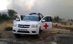 Ο Ελληνικός Ερυθρός Σταυρός στις φωτιές της Εύβοιας
